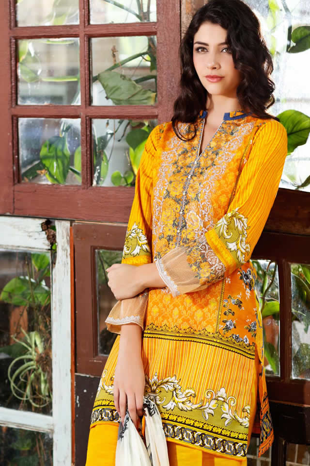 2016 Gul Ahmed Winter collection Pics