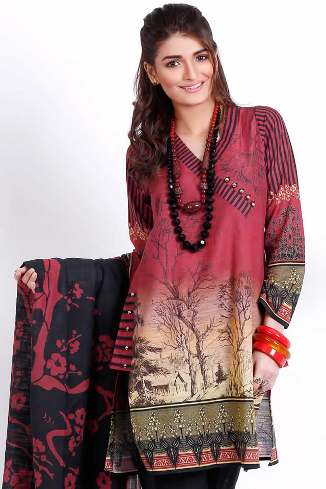 Gul Ahmed Winter collection 2016 Photos