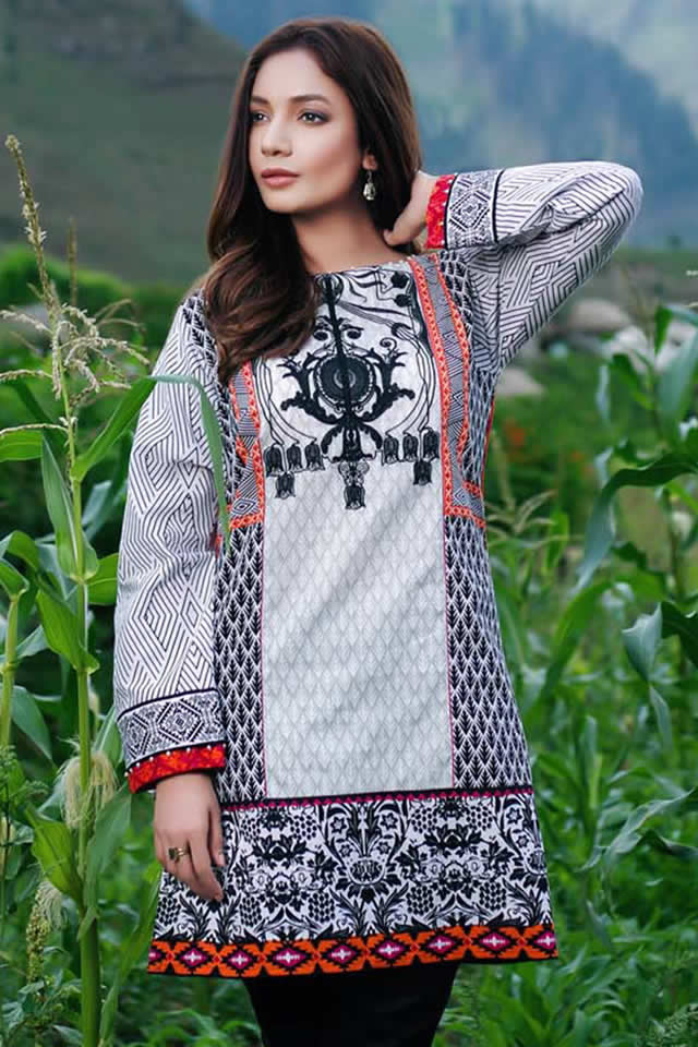 Gul Ahmed Winter Dresses collection 2016