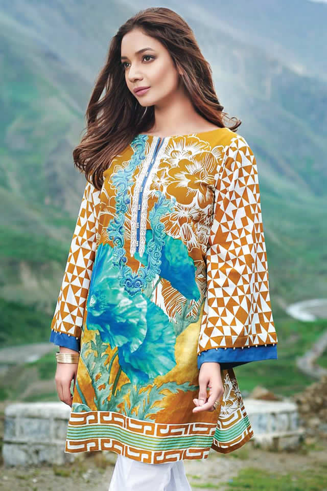 Gul Ahmed Winter Dresses collection 2016 Pictures