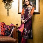 Gul Ahmed Winter Dresses collection 2015 Pictures