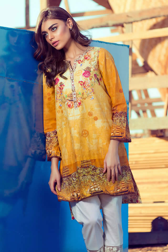 2016 Gul Ahmed spring collection Pics
