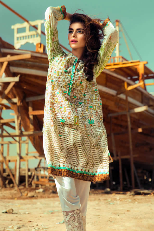 Gul Ahmed spring collection 2016 Pictures
