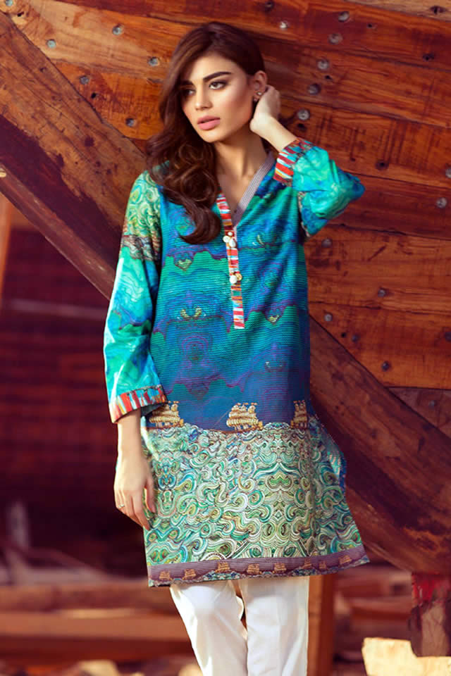 Gul Ahmed spring Dresses collection 2016 Pictures