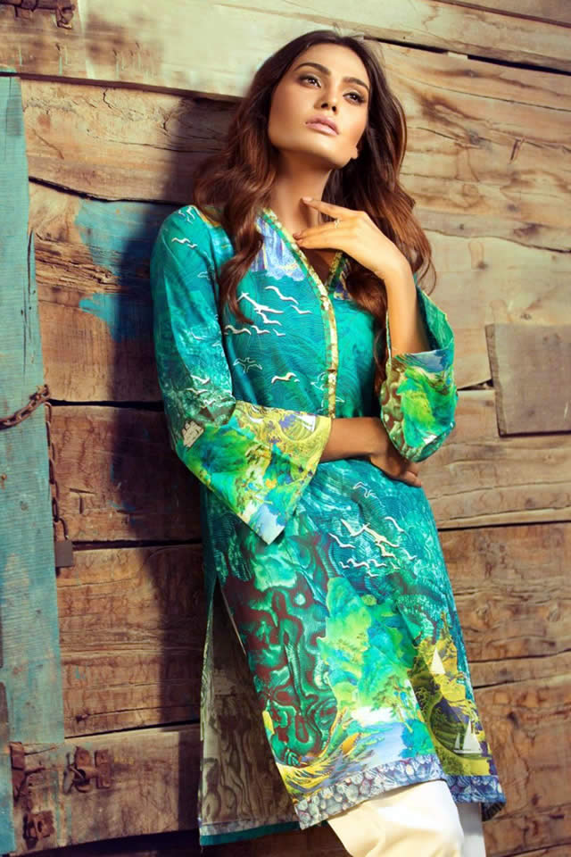 Gul Ahmed spring Dresses collection 2016 Photos