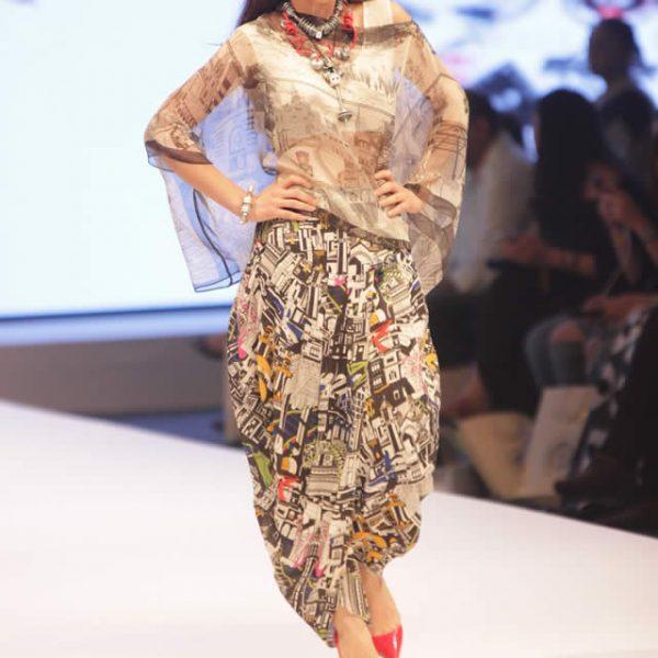 Maheen Khan 'I AM Karachi' Collection at FPW16