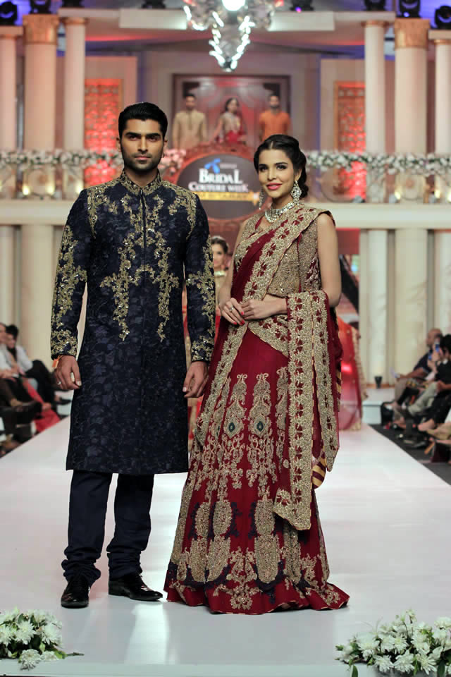 HSY Dresses Telenor Bridal Couture Week 2015 Images