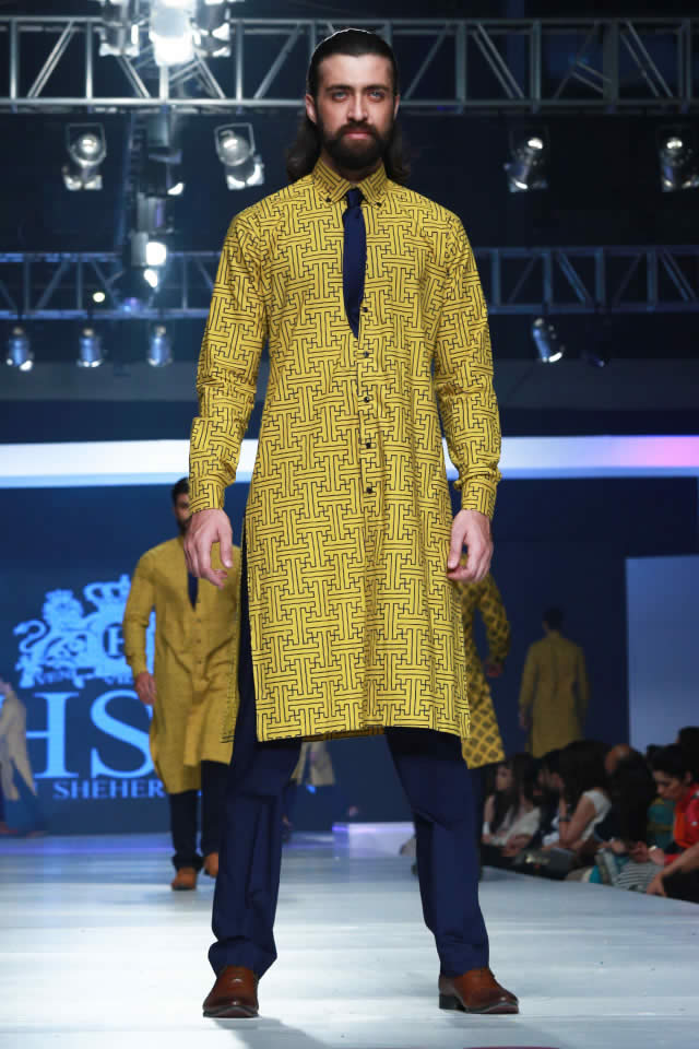 2015 PFDC Sunsilk Fashion Week HSY INK Collection