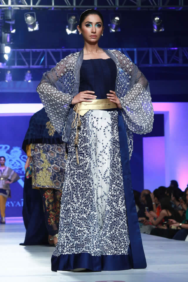 2015 PFDC Sunsilk Fashion Week HSY Collection