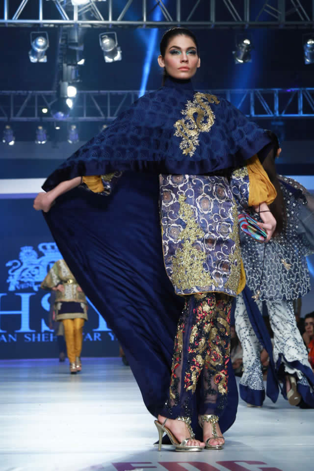 PFDC Sunsilk Fashion Week 2015 HSY INK Collection
