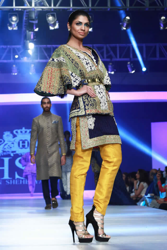 HSY INK 2015 PFDC Sunsilk Fashion Week Collection