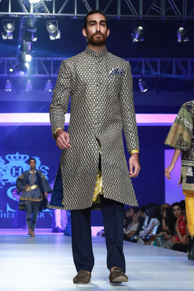 HSY Latest PFDC Sunsilk Fashion Week 2015 INK Collection