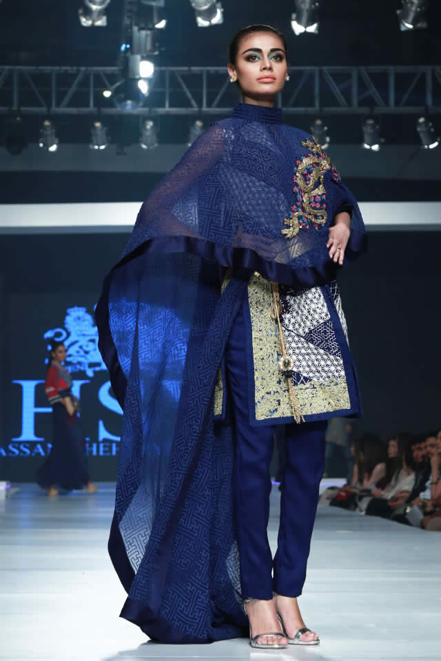 PFDC Sunsilk Fashion Week Latest 2015 HSY INK Collection