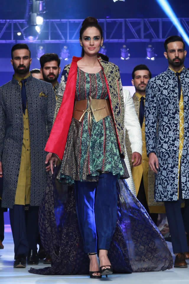 2015 Latest HSY PFDC Sunsilk Fashion Week INK Collection