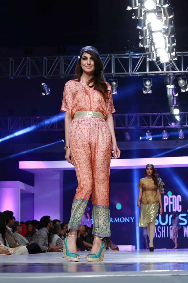 2015 PFDC Sunsilk Fashion Week Harmony Formal Colleciton Pictures
