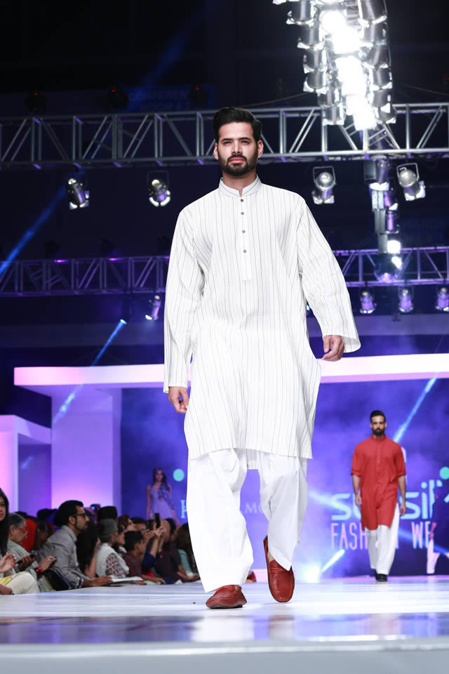 Fashion Designer Harmony Collection PFDC Sunsilk Fashion Week 2015 Gallery