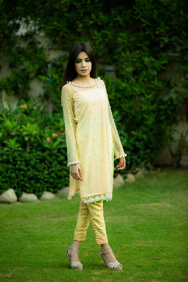 Fashion Designer Hira Khan Ghauri Pret Collection 2015 Gallery