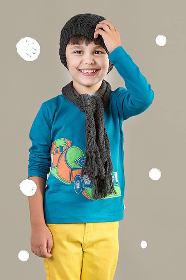 Hopscotch Winter Kids wear Collection 2015 Pics