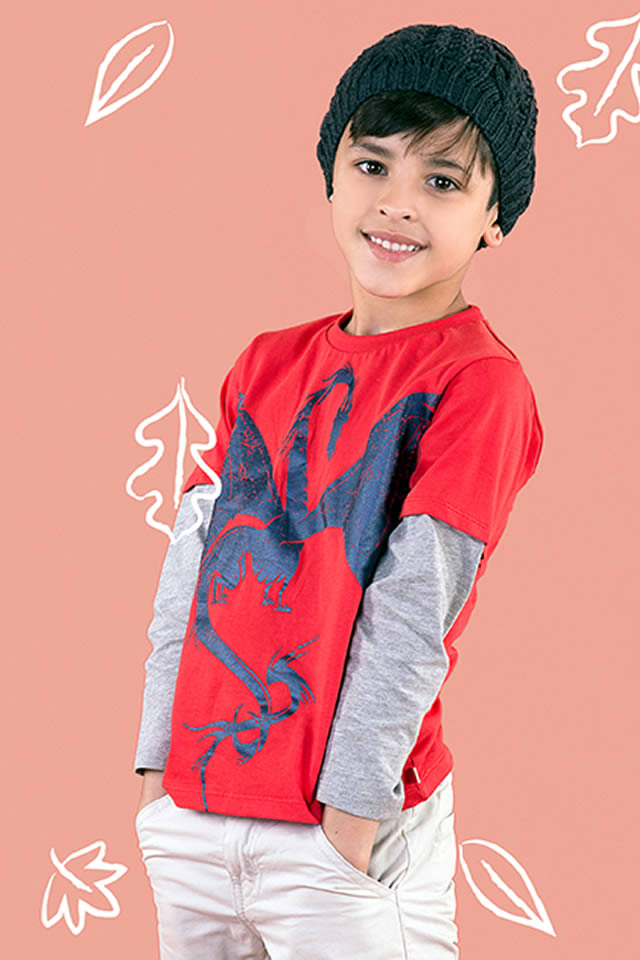 Hopscotch Winter Kids wear collection 2015 Pictures