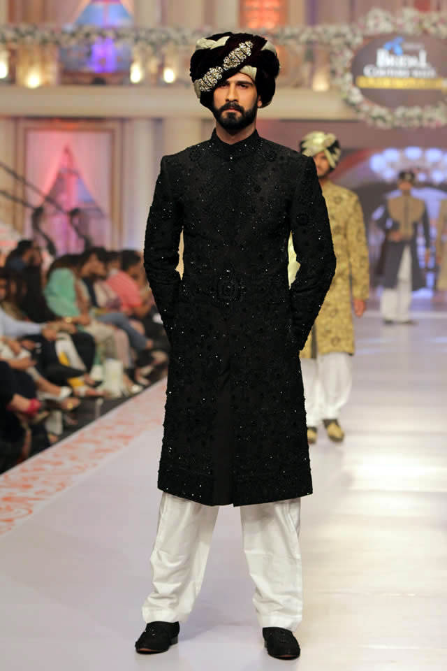 House of Arsalan Collection Telenor Bridal Couture Week 2015 Pics