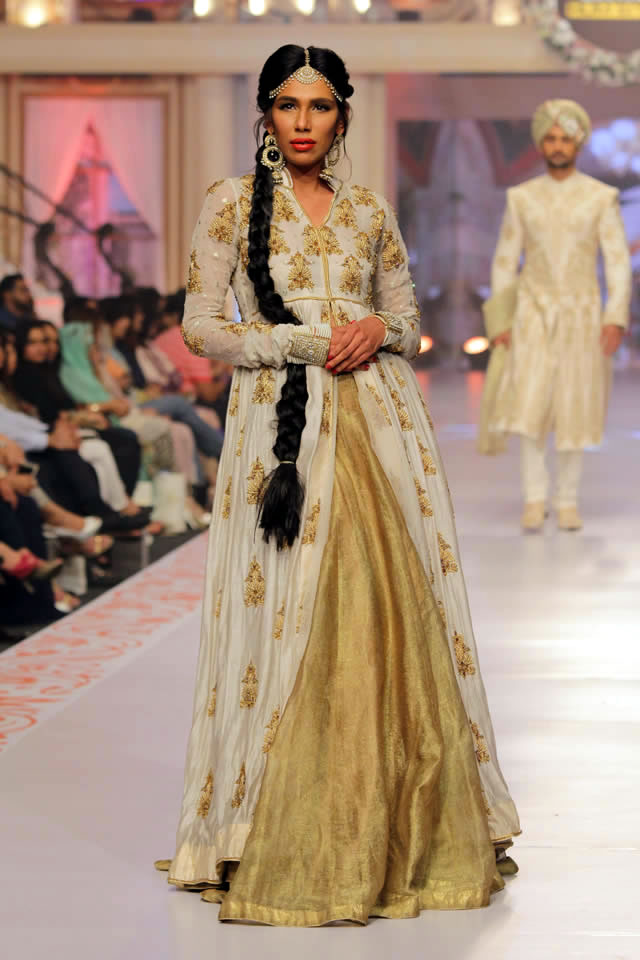 2015 Telenor Bridal Couture Week House of Arsalan Formal Dresses Pics
