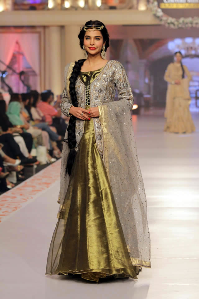 Telenor Bridal Couture Week 2015 Arsalan Iqbal Summer Dresses