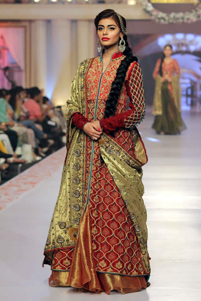 2015 Telenor Bridal Couture Week House of Arsalan Collection Photo Gallery