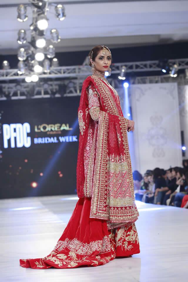 2016 PFDC Loreal Paris Bridal Week Kamiar Rokni Dresses Collection Photos