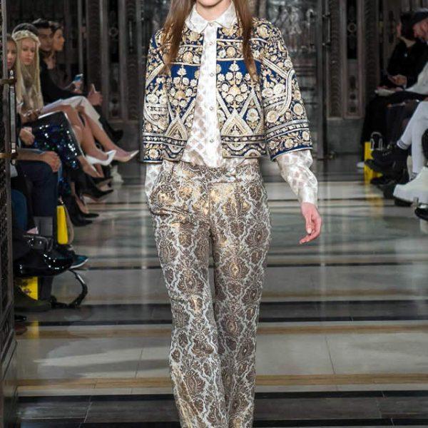 Kamiar Rokni Collection at London Fashion Week AW 16