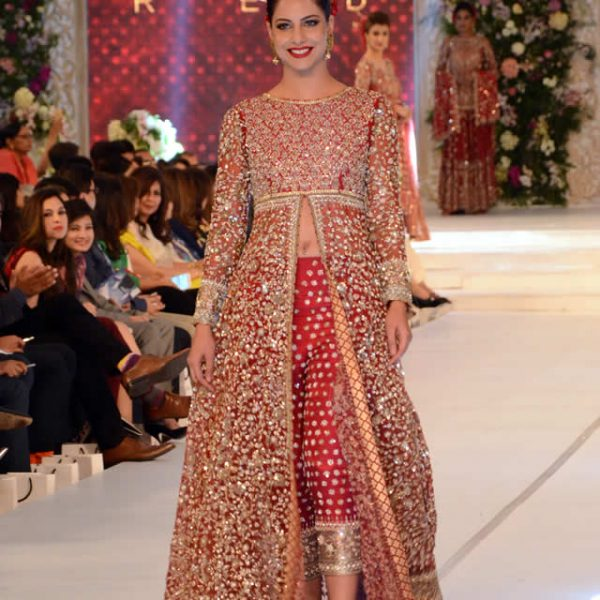Karma Red Bridal Dresses at PLBW 2015