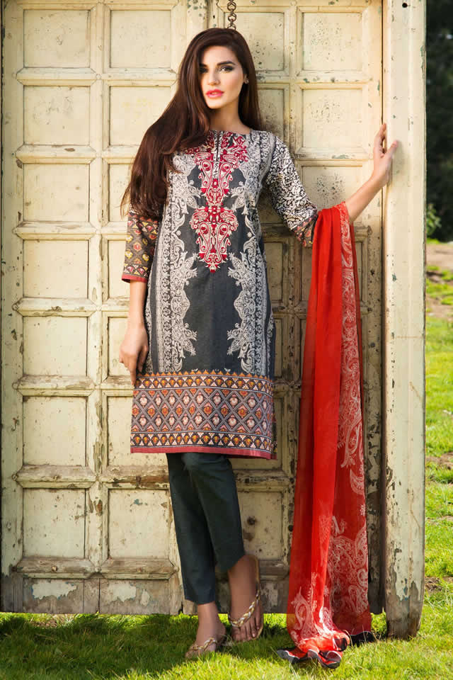 Khaadi Winter Dresses collection 2015-16 Images