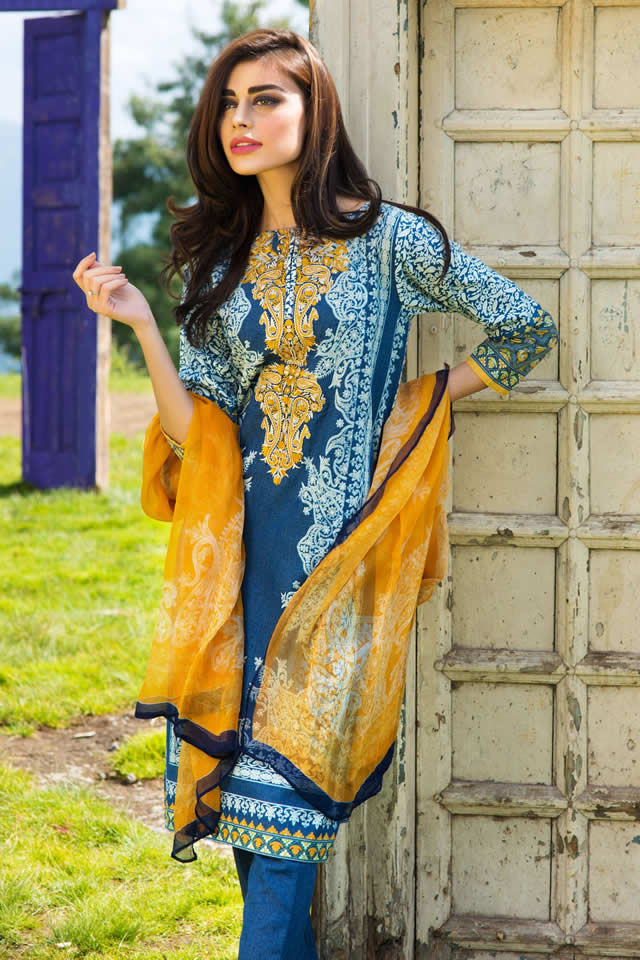 Khaadi Winter Dresses collection 2015-16 Gallery