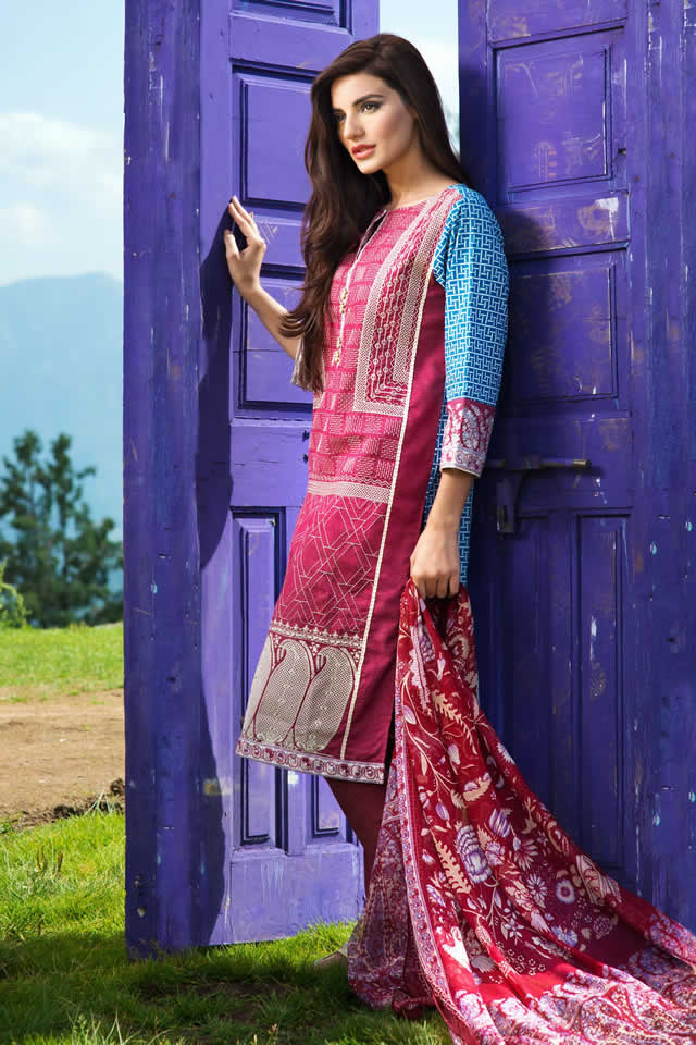 2015-16 Khaadi Winter collection Photos
