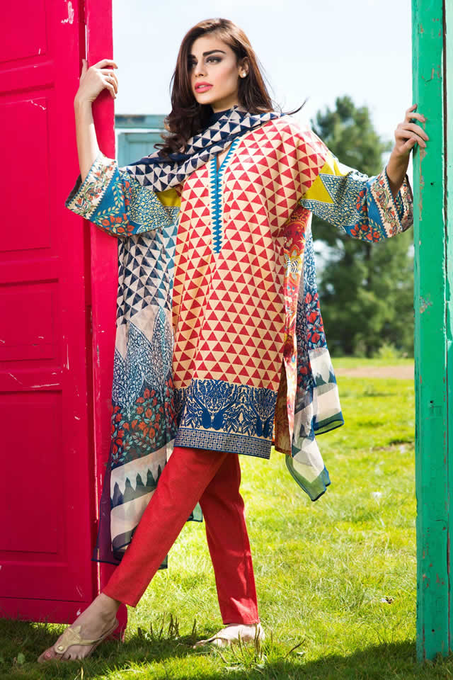 2015-16 Khaadi Winter collection Gallery