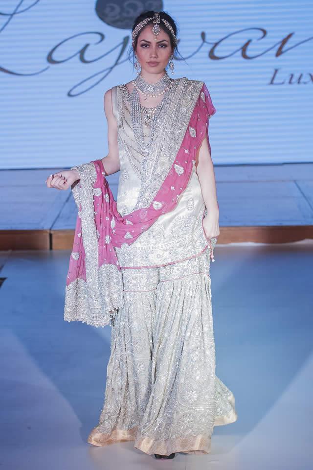 2015 Lajwanti Dresses Collection Images. 2015 Pakistan Fashion Week ... 5db570f34