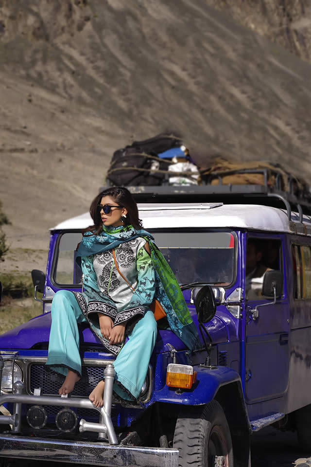 2016 Lakhany Silk Mills Winter collection