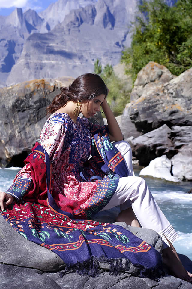 2016 Lakhany Silk Mills Winter collection Photos