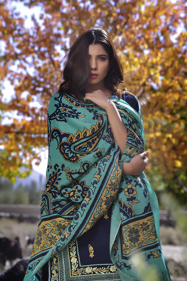 Lakhany Silk Mills Winter collection 2016 Pics