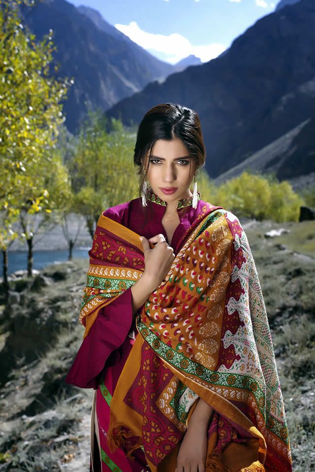 Lakhany Silk Mills Winter collection 2016 Gallery