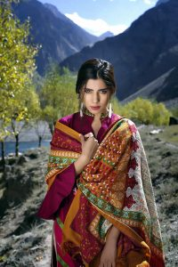 Winter Shawl Collection by LSM 2016