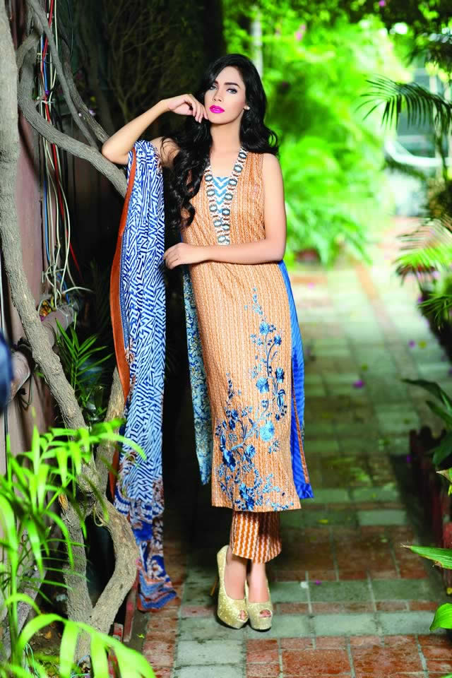 Summer Lawn 2016 Lala Dresses Collection
