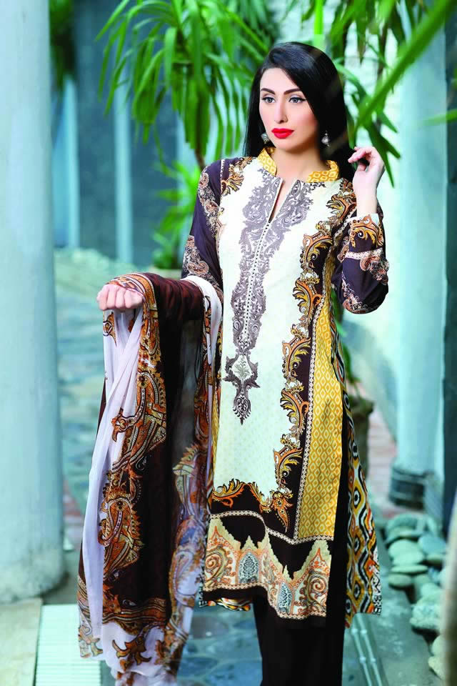 Lala Collection Summer Lawn 2016