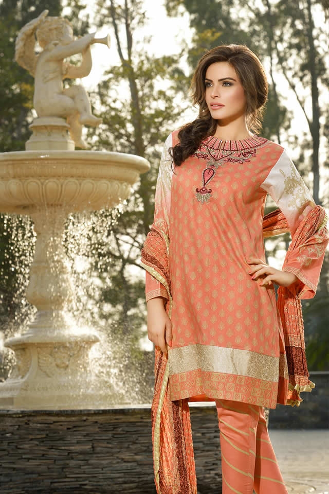 Lala Textiles Eid collection 2016 Pictures