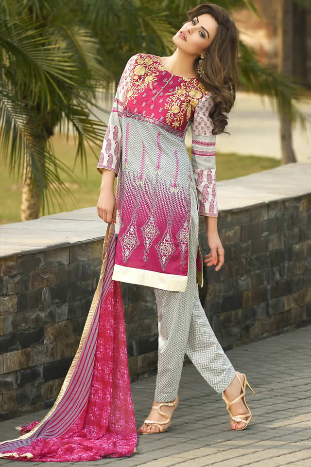 Lala Textiles Eid collection 2016 Images