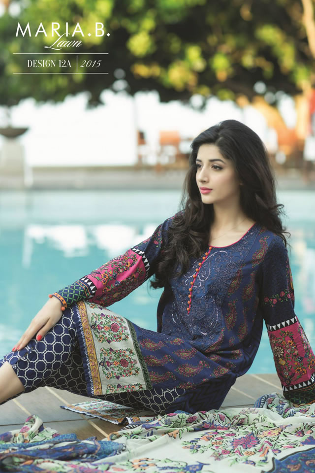2015 MARIA.B Lawn Spring Summer Collection