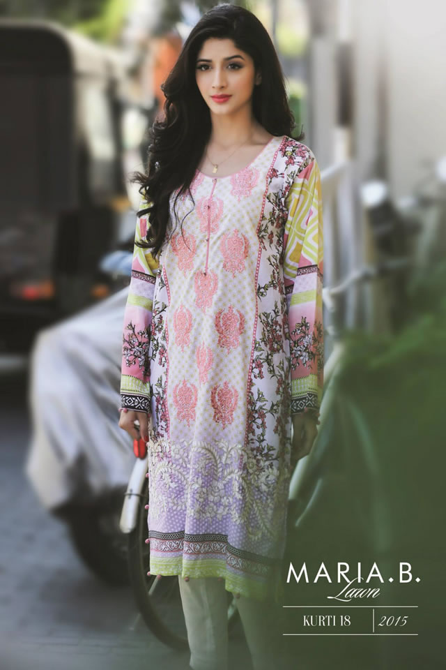 Lawn Latest MARIA.B Spring Summer Collection