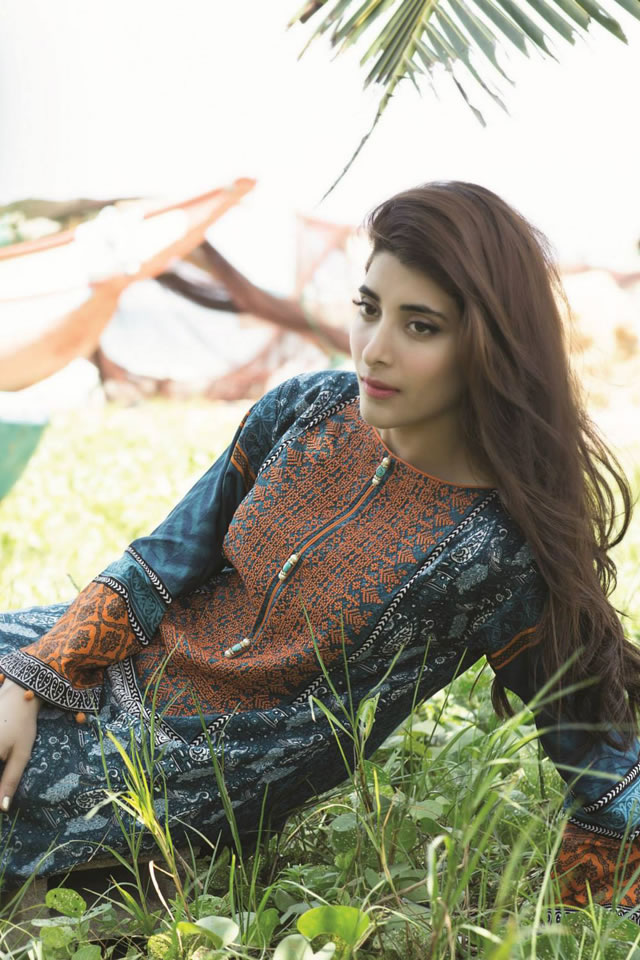 Lawn Spring Summer MARIA.B 2015 Collection