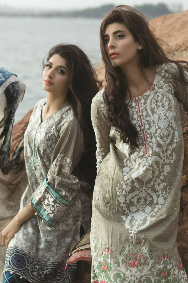 Spring Summer Lawn MARIA.B 2015 Collection