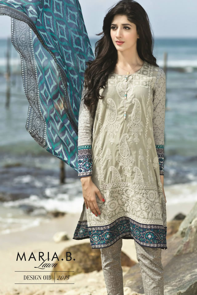 Spring Summer 2015 Lawn MARIA.B Collection