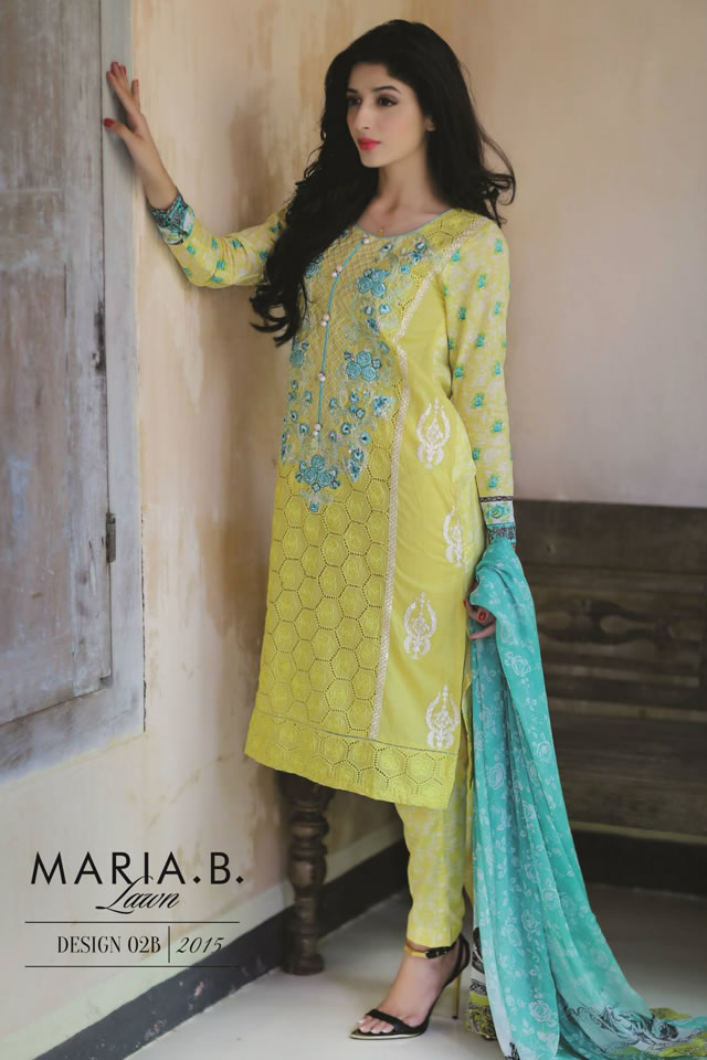Lawn 2015 MARIA.B Collection